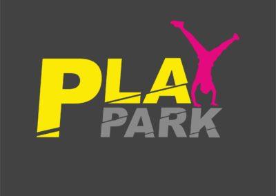 PLAY PARK LOGO krzywe