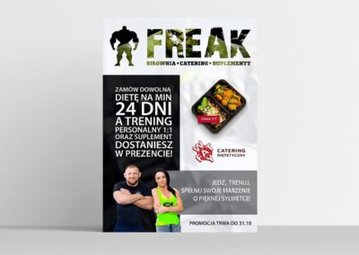 PLAKAT FREAK 2