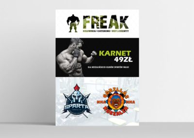 PLAKAT FREAK 3