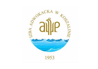 Projekt Sztandaru dla Izby Adwokackiej w Koszalinie