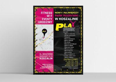PLAKAT A2 - PLAY PARK KOSZALIN